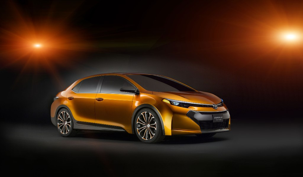 The Toyota Corolla Furia Concept Hints At Forthcoming New Model [With Video]