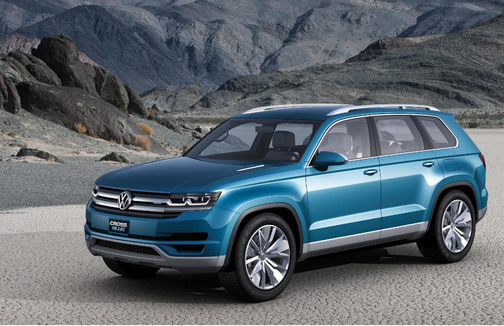 Volkswagen CrossBlue Concept Makes its Debut