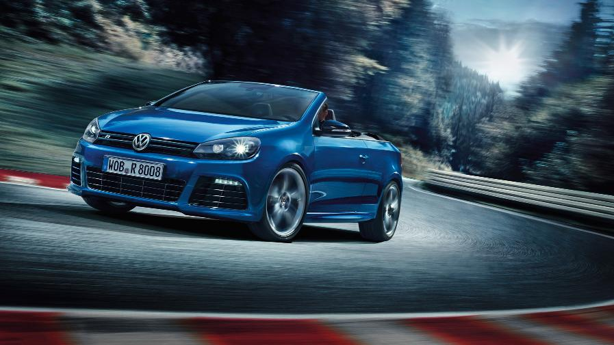 Details on the Volkswagen Golf R Cabriolet Revealed