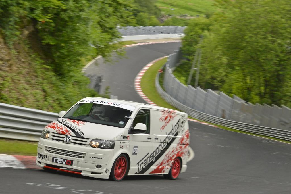 Revo VW T5 Smashes Commercial Vehicle Record at Nürburgring