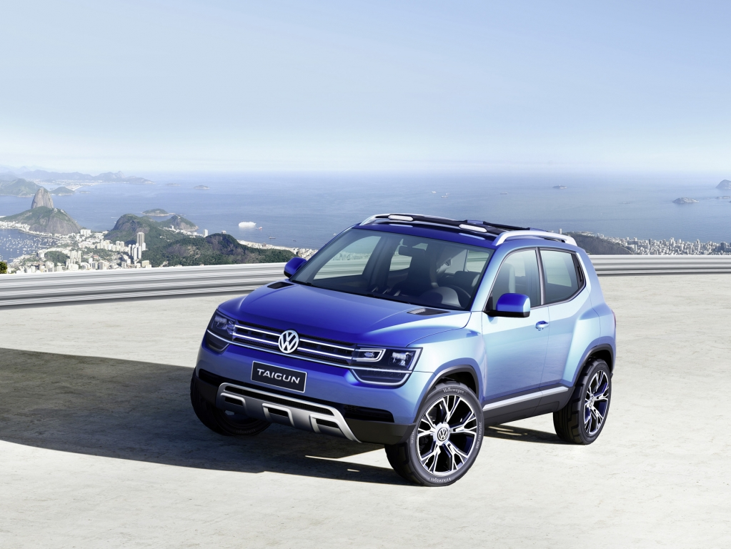 VW Taigun Concept - Could This Be One Of The New SUVs VW Talked About?