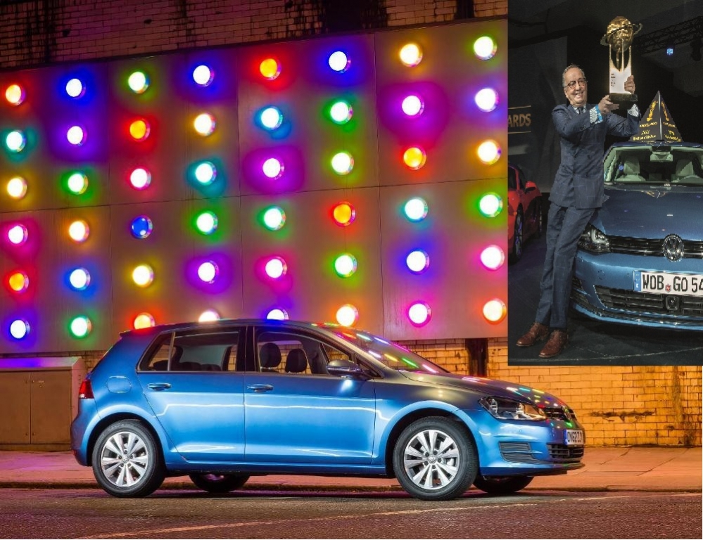 New Volkswagen Golf Named 'World Car of the Year 2013'
